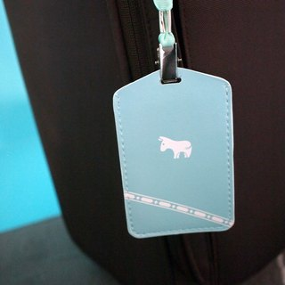 Luggage tag donkey to accompany you around the world