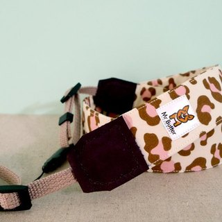 Camera strap. Hand-made Leopard sweet cotton