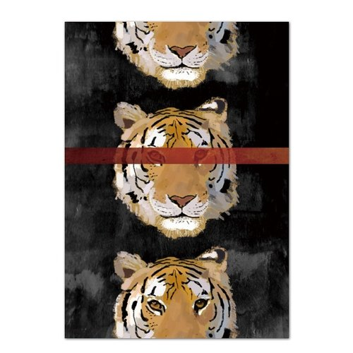 Postcard Tiger Card