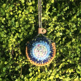 tAb│ colorful pouch necklace