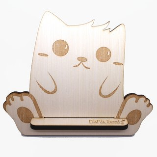 MuMu Sweety ✿ strange cat / phone holder / flat seat