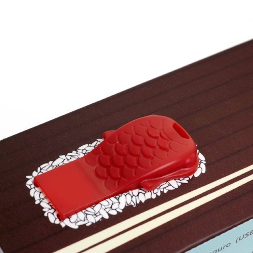 【Dot Design】魚有 Maguro  (USB Card Reader)-紅色