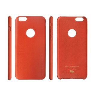 【Rolling Ave.】Ultra Slim iphone 6s plus / 6 plus 手感皮質護套-運動橘