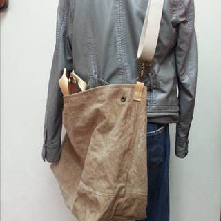 Large canvas tote bag (frame color has been sold, lack of color, please write the color selection)