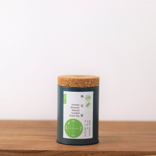 Pomelo Blossom Scented Green Tea-Loose Tea (preserving can used)
