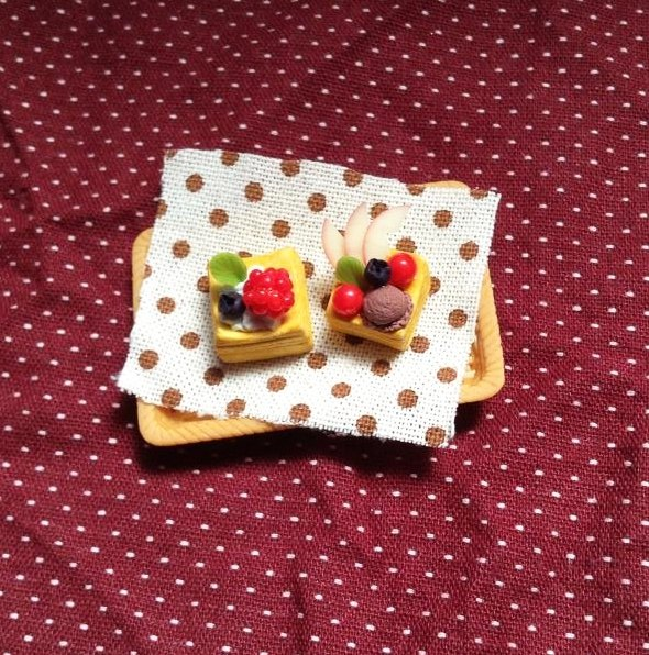 Delicious fruit pie group (can be changed ear clip) ((send 600 random mystery gift))