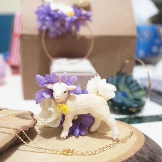 【Animal Party Series】Mary got a Little Lamb Necklace