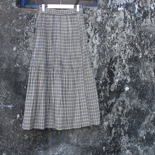 Thin elastic waist skirt off thick material