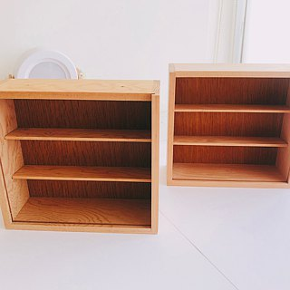 Wood paper tape storage box collection
