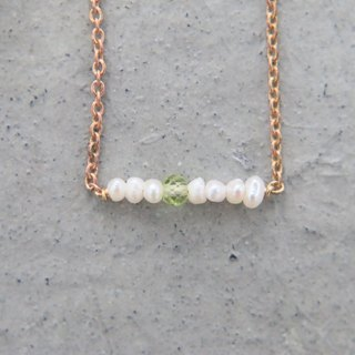 Pearl peridot 0123(small bunch)