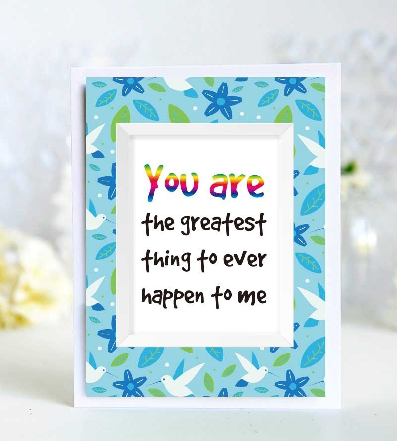 3 My Love For You Valentine Then Cried Limited Taoka Male And Female Friends Birthday Card Handmade English