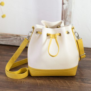 Small Canvas Bucket/Long Shoulder/Cross-body/Hand Carry/Available in 16 colors