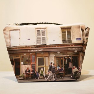 [Good] portable travel cosmetic bag large coffee time ◆ ◇ ◆ ◆ ◇ ◆