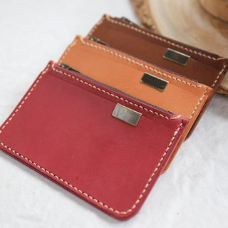 Shekinah Handmade Leather - Zip Coin Purse
