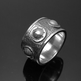 Trophy ReShi / totem-type transfer ring / 925 sterling silver / custom handmade custom / lover friends family gifts