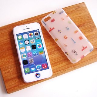 FiFi City Travel iPhone 5C translucent Rear Colorful Taipei! (Fun Taipei)