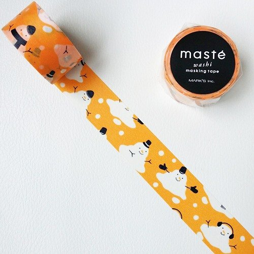 maste and paper tape 2015 Xmas [Snowman (MST-MKT113-D)]