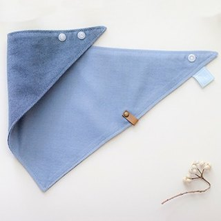 [My little star] little cowboy sided organic cotton bibs