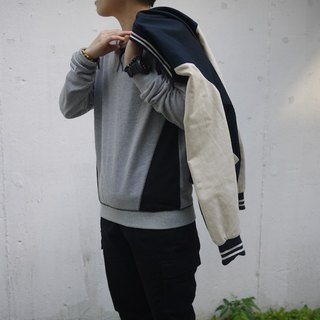 Patchwork Sweater/pullover/outer/clothing/unisex