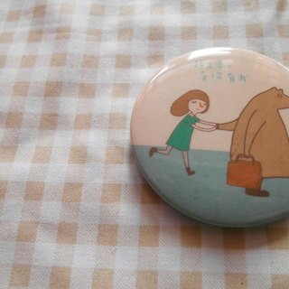 Xiu Xiu Bear / along the way, there you have my badge /-5.8cm