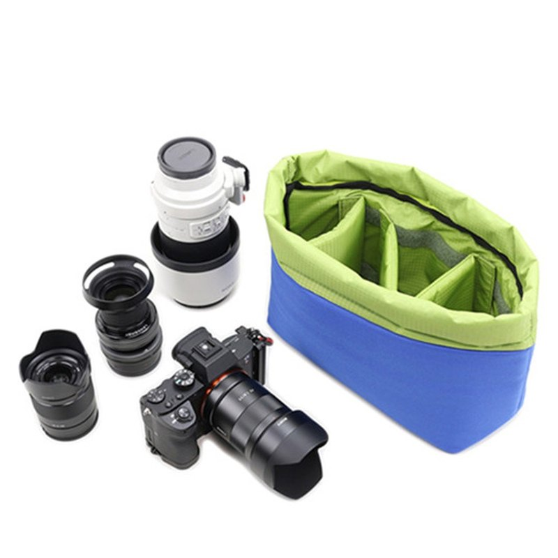 Micro single SLR handbag micro single bag camera inner bag cut cloth flower photography camera liner