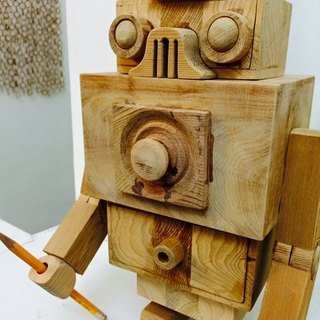 Wooden Box Robot - Wuji Machine