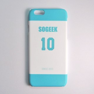 SO GEEK phone shell design brand THE JERSEY GEEK jersey back number Customized paragraph 035