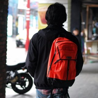 PIPE-T1 after fluorescent orange waterproof function backpack