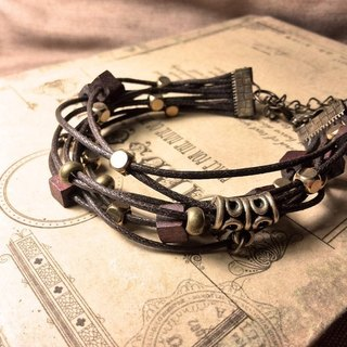 - Time memory - hand-made bracelets level section green and green