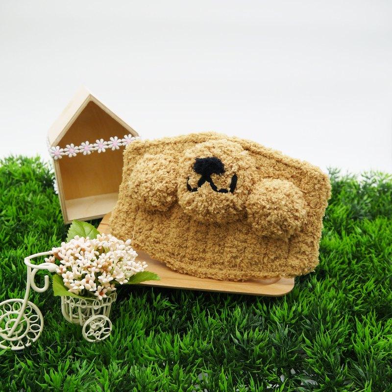 棉花糖動物口罩-胖嘟嘟貴賓狗
