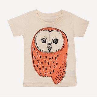 Amabro Honey Tee · Owls · 5-6 years