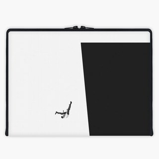 Axis - Custom 3-Sided Zipper Laptop Sleeve - WHITE-COLLAR WORKER
