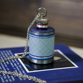 Blue Dynasty Necklaces Flask (1oz)