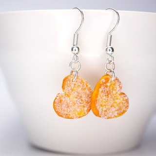 *Playful Design*  Palmier with Sugar Drop Earrings