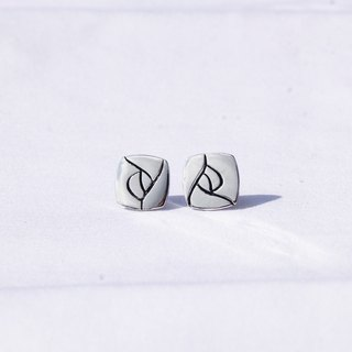 Natural series -Blooming-handmade Silver earrings