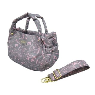 PAZEAL Puffy Handbag - mini fashion casual portable shoulder packet