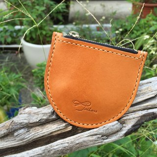 88Tailors circle - in the hands of the temperature of vegetable tanned leather handmade leather purse