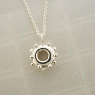 Donuts Silver Necklace