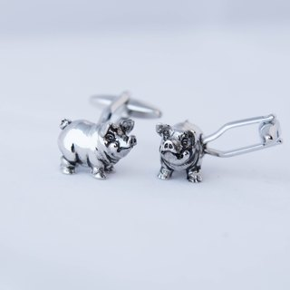 Piggy silver sleeves