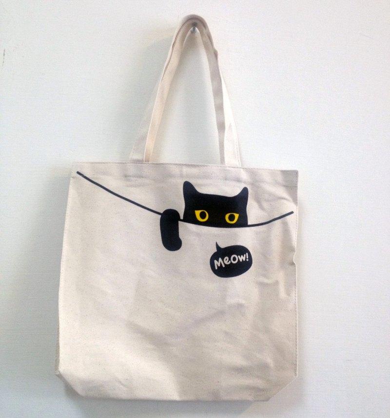 Ping Cat Tote Bag