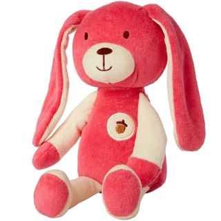US MyNatural certified organic cotton animal dolls - pink bunny