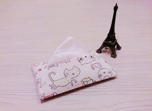 Cotton cloth grocery bag kitty portable surface section