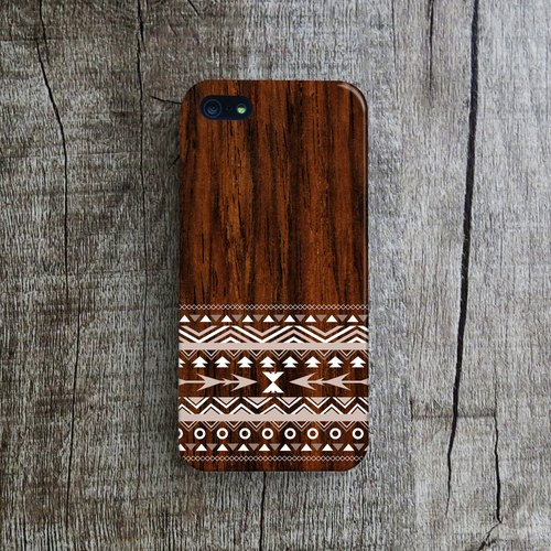 OneLittleForest - Original Mobile Case - iPhone 5, iPhone 5c, iPhone 4 - ethnic patterns