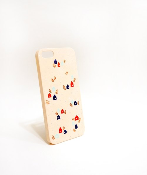 [Warm forest hut] hand-painted series iPhone phone shell