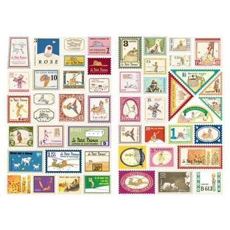 Dessin x 7321 Design- mini stamps stickers set V3- Little Prince, 7321-01910