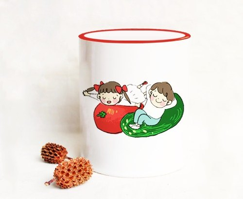 Wyatt still daily / Nanako joy mug porcelain cup ◍ ordered ı