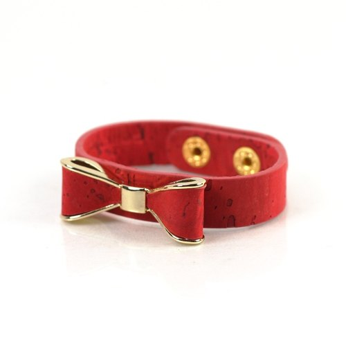 Korea CORCO bow bracelet (classic red)