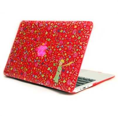 "Little Prince Authorized Series - Flower of the world's ""Macbook Pro / Air 13"" dedicated ""crystal shell"