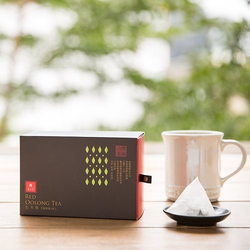 "Yu Shan Fang ""original leaf tea bags three-dimensional triangle"" organic red Own (20 in)"