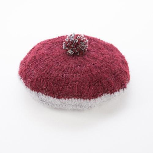 "Earth tree fair trade- ""hat Series"" - balls of wool beret (red)"